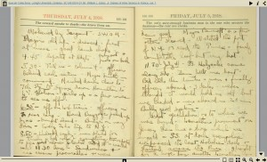 thumbnail of diary pages; no text alternative available