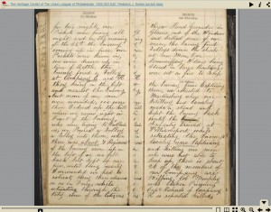 Click the image to view the diary in a page-turning viewer.